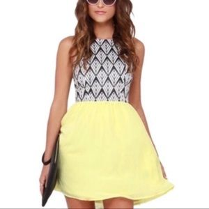 Lulus high neck mini dress - size xsmall